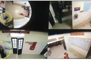 SỐC: Nữ điều dưỡng ở Nghệ An bị thanh niên lực lưỡng và cô gái bóp cổ, túm tóc đạp túi bụi