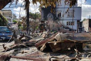 Lâm Đồng: Cháy chợ lúc nửa đêm, 12 ki ốt bị thiêu rụi hoàn toàn