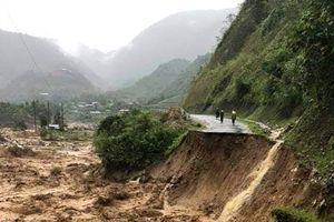 Lai Châu: 3 người mất tích sau mưa lũ
