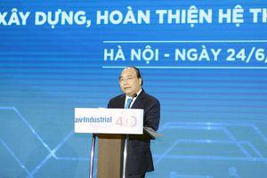 Thủ tướng Nguyễn Xuân Phúc: Cần thay đổi tư duy làm chính sách, pháp luật trong cách mạng công nghiệp 4.0