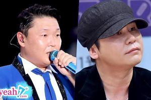 Psy từng bị cảnh sát triệu tập để triều tra về cáo buộc môi giới gái mại dâm của chủ tịch Yang Hyun Suk