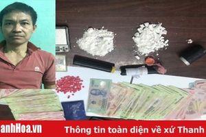 Bắt quả tang đối tượng bán ma túy tại nhà cho người nghiện