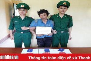 Bắt giữ đối tượng vận chuyển 565 viên ma túy tổng hợp qua biên giới