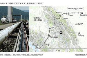 Canada khởi động dự án mở rộng đường ống dẫn dầu gây tranh cãi