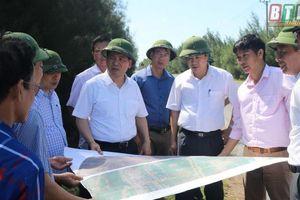 Thái Bình: Kiểm tra tiến độ thi công dự án cải tạo, nâng cấp Dự án đường 221A trên địa bàn huyện Tiền Hải