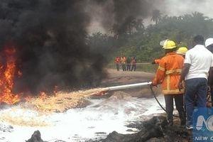 Nổ đường ống dẫn dầu đang sửa ở Nigeria, không ai sống sót