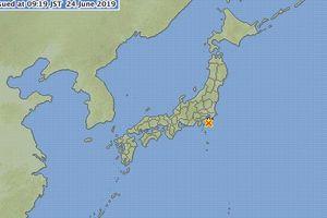 Nhật Bản: Thủ đô Tokyo và các tỉnh lân cận rung chuyển vì động đất