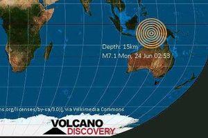 Indonesia: Động đất mạnh 7,7 độ richter ngoài khơi biển Banda