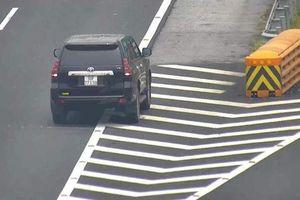 Xử lý hai tài xế lùi xe trên cao tốc Hà Nội - Hải Phòng