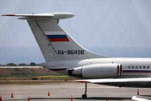 Máy bay quân sự Nga bất ngờ xuất hiện ở Venezuela