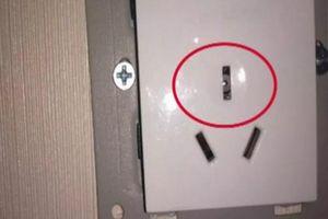 Bị bắt vì đặt camera quay lén trong ổ điện khách sạn