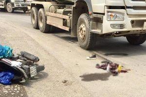 Thí sinh thi THPT nguy kịch sau tai nạn với xe trộn bê tông