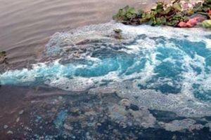 Nước thải từ nhà máy trong KCN Biên Hòa 1 đổ thẳng ra sông Đồng Nai