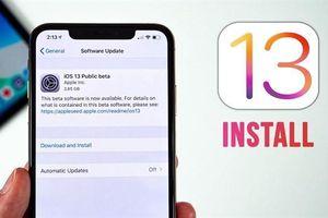 iOS 13 và iPadOS beta trình làng
