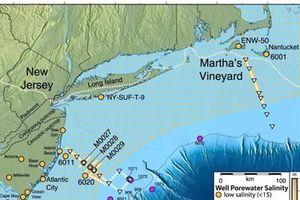 Phát hiện 'biển' nước ngọt khổng lồ dưới Đại Tây dương
