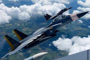 Bất ngờ lai lịch màu sơn lạ trên 'đại bàng tấn công' của Mỹ