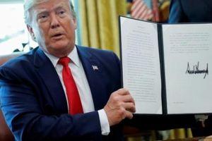 Trump áp lệnh trừng phạt lên các quan chức Iran
