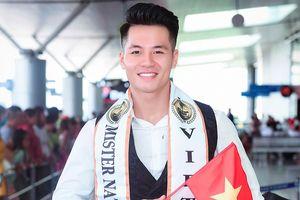 Đại diện Việt Nam lên đường sang Thái Lan dự thi 'Mister National Universe'