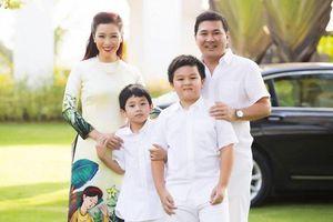 Á hậu Thu Hương: Hạnh phúc khi là người vun vén tổ ấm