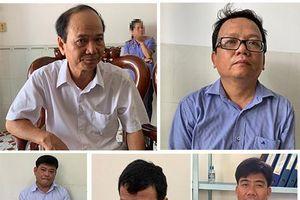 Khởi tố, bắt tạm giam 5 bị can nguyên cán bộ Phòng TN-MT TP.Trà Vinh