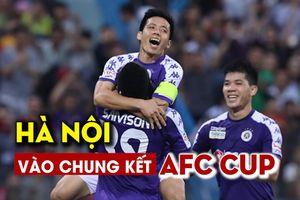 Văn Quyết ghi bàn, Hà Nội vào chung kết AFC Cup khu vực Đông Nam Á