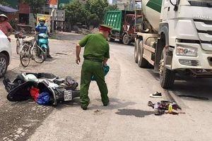Hà Nội: Nam sinh bị xe bồn tông trên đường đi thi về