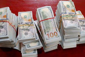 Vứt lại 470.000 đô la Mỹ khi bị công an kiểm tra