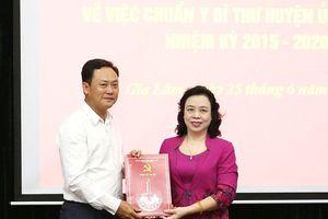 Hà Nội: Ông Lê Anh Quân làm Bí thư Huyện ủy Gia Lâm