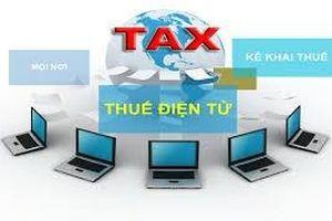 Mang tiện ích cho doanh nghiệp trong nộp thuế điện tử