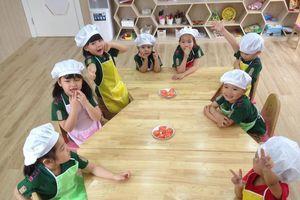 'Du học' Hàn Quốc ngay từ lứa tuổi mầm non