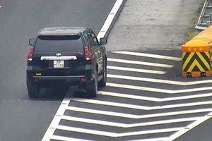 Xe ôtô đi lùi trên cao tốc: Tự giết mình, đe dọa tính mạng người khác