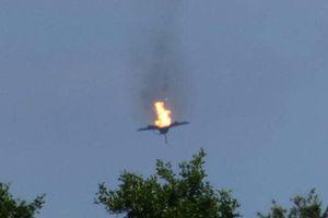Hai máy bay chiến đấu đâm vào nhau, một phi công Đức bị tử nạn