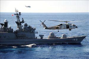 Lực lượng Phòng vệ trên biển Nhật Bản tập trận với quân đội Mỹ, Australia