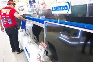 Sản phẩm Asanzo 'mất hút' trên kệ cửa hàng điện máy sau nghi án lập lờ hàng Trung Quốc - Việt Nam