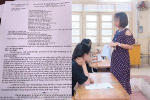 Vụ thí sinh làm lộ đề thi trong giờ thi ở Phú Thọ, công an vào cuộc điều tra