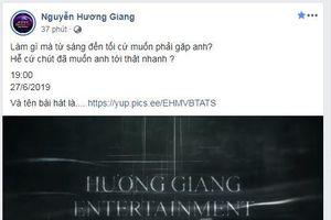 Hương Giang chính thức công bố tên ca khúc mới với teaser 'rùng rợn' nhưng dự đoán của fan thì không thể 'lầy' hơn