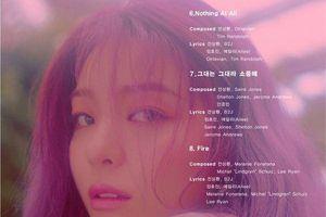 Ailee tiết lộ tracklist album trở lại: Sẽ có một sự kết hợp đặc biệt với Chen (EXO)