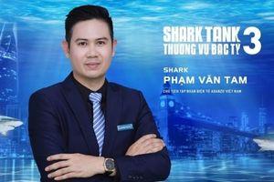 Chủ tịch Asanzo Phạm Văn Tam chính thức rời ghế Shark Tank mùa 3