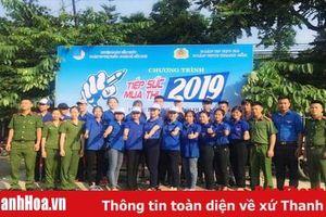 Thanh Hóa: 2.100 tình nguyện viên tham gia tiếp sức mùa thi