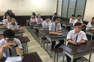 TP Hồ Chí Minh: Các điểm thi chuẩn bị nghiêm túc