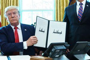 Tổng thống Mỹ ký lệnh trừng phạt Iran