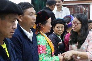 Ủy ban Dân tộc gặp mặt Đoàn đại biểu Người có uy tín và cán bộ cơ sở huyện Mèo Vạc, tỉnh Hà Giang