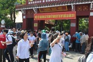 Hơn 12 nghìn thí sinh ở Huế hoàn thành môn thi Ngữ Văn