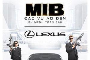 Lexus RC F sánh vai cùng Men in Black giải cứu thế giới