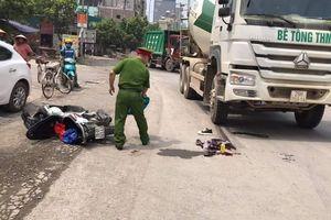 Nam sinh Hà Nội bị xe bồn tông gãy chân trên đường đi thi về
