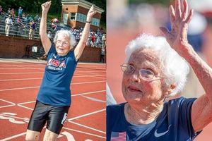Cụ bà 103 tuổi Mỹ thi chạy, phá kỷ lục thế giới chặng đua 100m