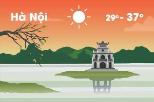 Thời tiết ngày 26/6: Hà Nội nắng nóng trở lại, Sài Gòn mưa rào