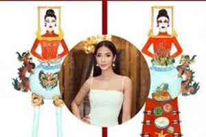 'Bàn thờ' lọt top 2 trang phục dân tộc tại Hoa hậu Hoàn vũ Việt Nam 2019