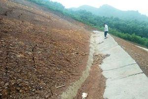 Sạt lở đe dọa tính mạng người dân ở Thái Nguyên