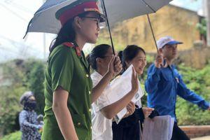 Điện Biên: Học viên Học viện Cảnh sát Nhân dân hăng say 'Tiếp sức mùa thi'